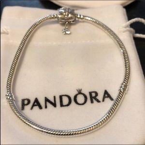 Pandora Bracelet butterfly 🦋 sz 7.9